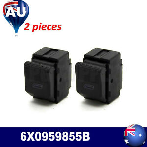 2× FOR VW Polo Hatchback 6N2 1999 2000 2001 SEAT IBIZA Electric Window SWITCH