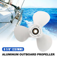 9-7/8 x 11-1/4p Aluminum 3 Blades Propeller For Yamaha Outboard Engine 20-30HP