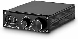 Nobsound G2 Subwoofer Full Frequency Mono Channel Digital Power Amplifier 100W