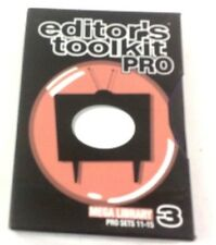 Digital Juice Editors Toolkit PRO #3 Mega Library  10 DVD Set  PRO SETS 11 to 15