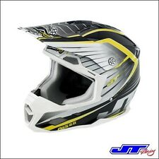 CASCO CROSS JT RACING ALS 2.0 White Black Chartreuse TG M