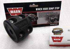 WARN 99944 Winch Hook Bump Stop for Wire or Synthetic Rope