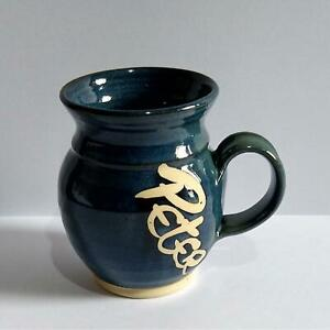 Moville Studio Pottery Mug Ireland with the name Peter - Kennedys