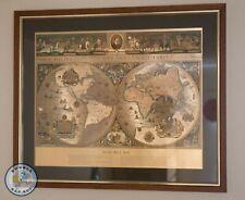 More details for blaeu wall map old & new world nova totivs sive terrarom orbis tabvla