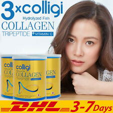 3x AMADO Colligi Hydrolyzed Fish Collagen Tripeptide Vitamic C Skin Joint 110g