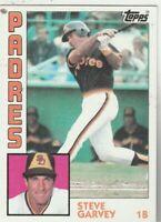 FREE SHIPPING-MINT-1984 Topps #380 Steve Garvey Padres PLUS BONUS CARDS