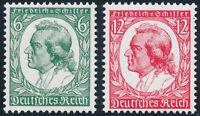 DR 1934, MiNr. 554-555, 554-55, tadellos postfrisch, Mi. 100,-