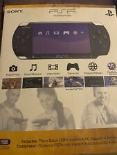 Sony PSP 3000 Piano Black - Box/Manuals ONLY, No Console!