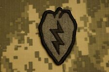 VELCRO ® Military Patch US Army 25th Infantry Division ACU Authentic Perfect Con
