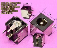 port jack prise 2.5mm alimentation DC HP série ZD7000  ZV5000 ZX5000 Not...C62.3