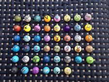 46 Different Pokemon Plastic Marbles