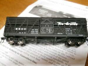 Blackstone HOn3 D&RGW 30 Ft Stock Car #5500