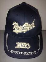 CAPPELLO NEW YORK CITY BLU VISIERA CAPPELLINO HAT