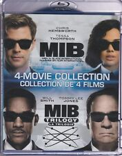 MEN IN BLACK/MIB 4 MOVIE COLLECTION BLURAY SET with Chris Hemsworth & Will Smith
