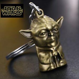 STAR WARS YODA Figurine metal replica Rogue Keychain collectible cosplay force