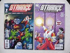 STRANGE ADVENTURES N°1 A 8 RUN COMPLET VO NEUF / NEAR MINT / MINT