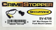 NEW Crimestopper SV-6708  Universal Rearview Color Backup Camera w/ Wide Angle