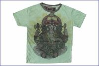 zz Men T Shirt GANESH HINDU GOD GANESHA INDIA HIPPIE Peace Hobo Boho m RARE WEED