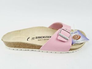 Birkenstock Madrid Sandalen Gr. 40 / Slipper Rosa Neu ungetragen mit Etikett