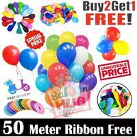 "20 X Latex PLAIN BALOON BALLONS helium BALLOONS 5"" inch Party Birthday Wedding"