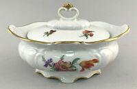 C116 Porcelain Konfekt-Dose Gerold Floral Decoration