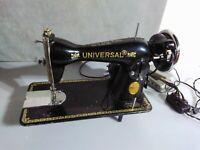 Antique Universal Sewing Machine beautiful design great display piece