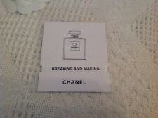 Chanel ne 5 L'Eau Paris ruban blanc Breaking and Making Parfumez moi parfum ME