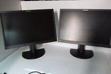 "LOT-2 Lenovo LT2252p Wide 22"" LCD Monitor VGA DVI DP LT2252pwD 2572-MB6 03X7922"