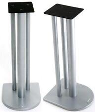 Atacama Nexus 7i Speaker Stands Silver Metallic (Pair)
