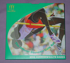 2002 ROYAL MINT COMMONWEALTH GAMES SPECIMEN £2 FOUR COIN SET - SCARCE COINS