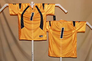 WEST VIRGINIA MOUNTAINEERS  Nike #1  FOOTBALL JERSEY   Youth Large  $46  NWT y