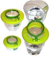 Faltbare Lupendose Käferdose 2 und 4fache Vergrößerung Becherlupe