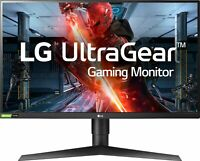 "LG - UltraGear 27"" IPS LED QHD FreeSync Monitor with HDR - Black"
