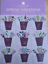 "Spring Dresdens Quilt Pattern for 5"" & 10"" Squares New Missouri Star Quilt Co"