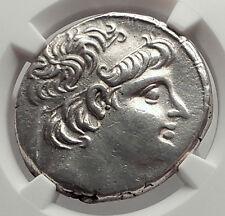 ALEXANDER II ZABINAS RARE R1 Seleukid Silver Greek Tetradrachm Coin NGC i62454