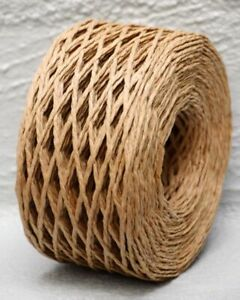 Natural Paper Twine 2 mm Wide 100 metres