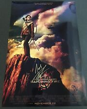 JOSH HUTCHERSON ACTOR CATCHING FIRE SIGNED 12x18 PHOTO MOVIE POSTER AUTHENTIC!!