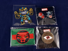 Marvel Unlimited Plus Wakanda & Thanos Patches Eye of Agamotto Pin Black Panther