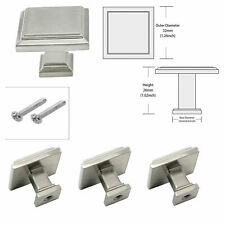 Cabinet Knobs Brushed Nickel Cabinet Handles Square Drawer Pull Cabinet Hardware