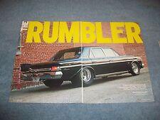 "1964 AMC Rambler Classic 4-Door Drag Car Article ""The Rumbler"""