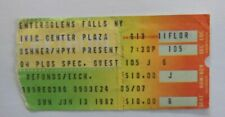 RAINBOW   Ritchie Blackmore's Rainbow  Concert TICKET GLENN FALLS 1982