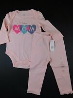 "0 3 M Baby Gap Disney Minnie Mouse 3pc I/""VE ARRIVED Bodysuits New Born Girl NWT"