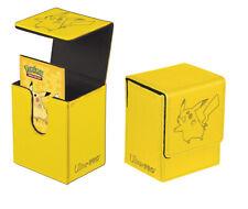 Ultra Pro - Pokemon - Flip Storage Case Deck Box - Pokemon Pikachu (Yellow)