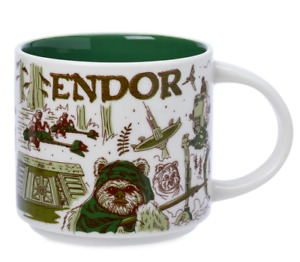 Disney Parks Endor Star Wars Starbucks Coffee Mug Been There May 4th 2021 - NEW