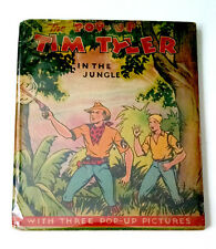 Lyman Young, POP-UP TIM TYLER IN THE JUNGLE, 1935, Rare