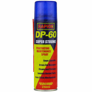 2x 250ml  DP-60 Penetrating Releasing Cleaning Maintenance Spray DP60 Lubricant