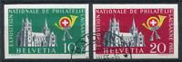 Schweiz 1955 Mi. 611-612 Gestempelt 100% Philharmonische Ausstellung, Lausanne
