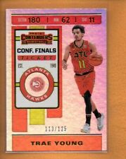 Trae Young 2019-20 Playoff Contenders Conference Finals Ticket #1 /125 113/125
