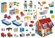 Playmobil  Casa de muñecas en forma de maletín set de juego 5167 3 personajes