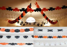 Unbranded Paper Halloween Party Banners, Buntings & Garlands